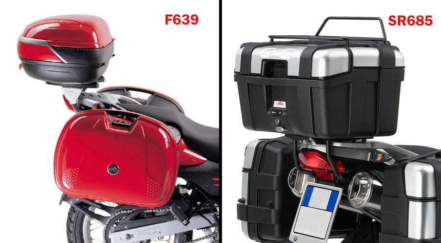 BMW F 650, CS, GS, ST, Dakar Portabauletto Top case