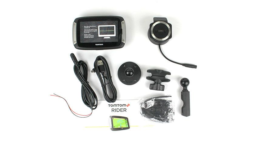 gps tomtom rider 550 per bmw k1200lt accessori hornig. Black Bedroom Furniture Sets. Home Design Ideas