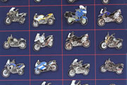 Pins for BMW motorcycles