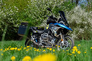 BMW R1200GS 2018 conversion by Hornig