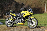 BMW F700GS conversion Hornig