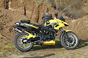 BMW F700GS Custom Tuning Hornig